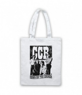 Creedence Clearwater Revival CCR Down On The Corner Tote Bag Tote Bags