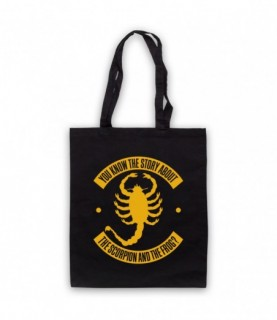 Drive Story Of The Scorpion And The Frog Tote Bag Tote Bags