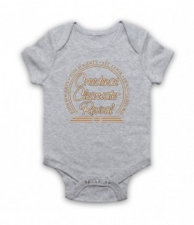 Creedence Clearwater Revival CCR Band Members Circle Logo Baby Grow Baby Grows