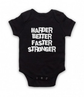 Daft Punk Harder Better Faster Stronger Baby Grow Baby Grows