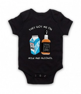 Dr Feelgood Milk & Alcohol Baby Grow Baby Grows