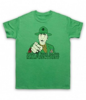 Full Metal Jacket Sergeant Hartman What Is Your Major Malfunction? T-Shirt T-Shirts