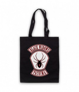 Every Which Way But Loose Black Widows Tote Bag Tote Bags