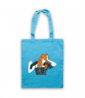 Florence & The Machine Florence Welch Illustration Tote Bag Tote Bags