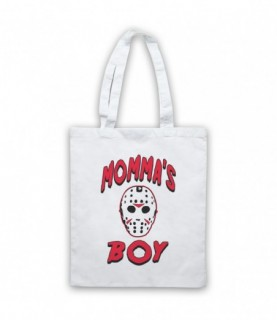 Friday The 13th Jason Momma's Boy Tote Bag Tote Bags