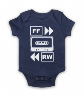 Fast Forward Rewind Cassette Tape Baby Grow Baby Grows