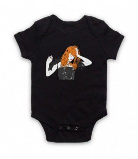 Florence & The Machine Florence Welch Illustration Baby Grow Baby Grows