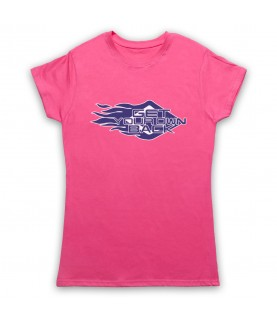 Get Your Own Back TV Logo Womens Pink T-Shirt