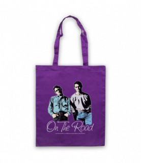 Jack Kerouac On The Road Sal Paradise Dean Moriarty Tote Bag Tote Bags