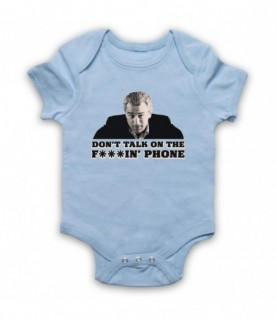 Goodfellas Don't Talk On The Phone Baby Grow Baby Grows