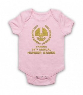 Hunger Games Panem's 74th Annual Games Baby Grow Baby Grows