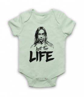 Iggy Pop Lust For Life Baby Grow Baby Grows