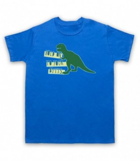 Jurassic Park Hold On To Your Butts T-Rex T-Shirt T-Shirts