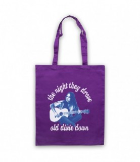 Joan Baez The Night They Drove Old Dixie Down Tote Bag Tote Bags