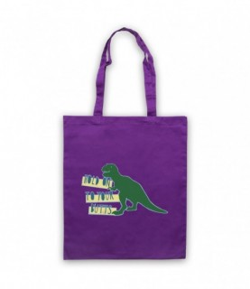 Jurassic Park Hold On To Your Butts T-Rex Tote Bag Tote Bags