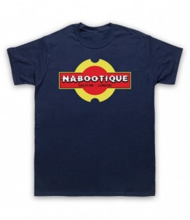 Mighty Boosh Nabootique Naboo Shop Sign T-Shirt T-Shirts