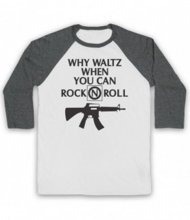 Lost Boys Why Waltz When You Can Rock N Roll Frog Brothers Baseball Tee Baseball Tees