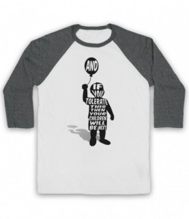 Manic Street Preachers If You Tolerate This Children Will Be Next Baseball Tee Baseball Tees