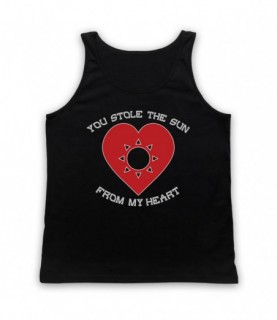 Manic Street Preachers You Stole The Sun From My Heart Tank Top Vest Tank Top Vests