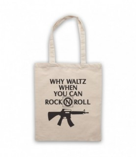 Lost Boys Why Waltz When You Can Rock N Roll Frog Brothers Tote Bag Tote Bags
