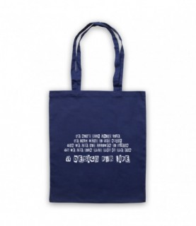 Manic Street Preachers A Design For Life Tote Bag Tote Bags