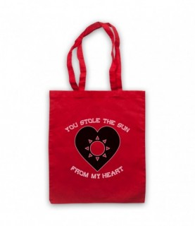 Manic Street Preachers You Stole The Sun From My Heart Tote Bag Tote Bags