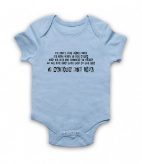 Manic Street Preachers A Design For Life Baby Grow Baby Grows