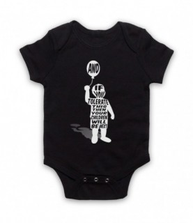 Manic Street Preachers If You Tolerate This Children Will Be Next Baby Grow Baby Grows