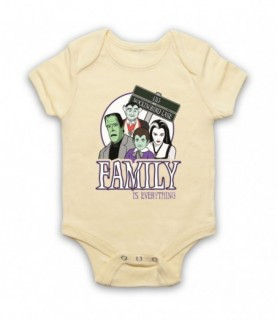 Munsters Family Is Everything Baby Grow Baby Grows
