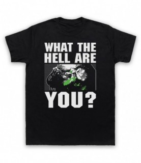 Predator Face What The Hell Are You? T-Shirt T-Shirts