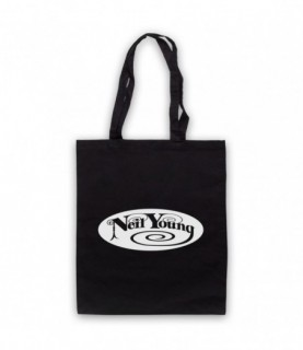 Neil Young Logo Tote Bag Tote Bags