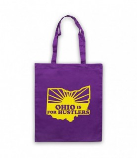Ohio Is For Hustlers American State Slogan Tote Bag Tote Bags