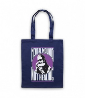 Ozzy Osbourne Crazy Train Mental Wounds Not Healing Tote Bag Tote Bags