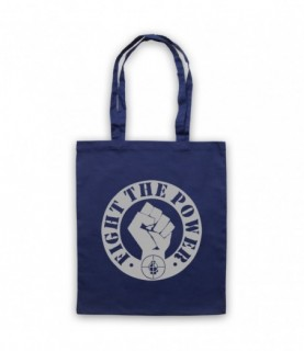 Public Enemy Fight The Power Tote Bag Tote Bags