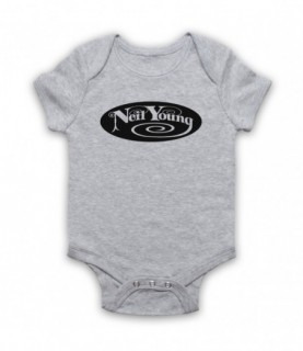 Neil Young Logo Baby Grow Baby Grows