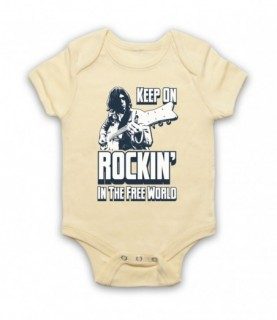 Neil Young Rockin' In The Free World Baby Grow Baby Grows