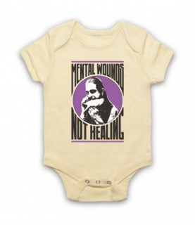 Ozzy Osbourne Crazy Train Mental Wounds Not Healing Baby Grow Baby Grows