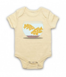 Pink Floyd Wish You Were Here Two Lost Souls Fish Bowl Baby Grow Baby Grows