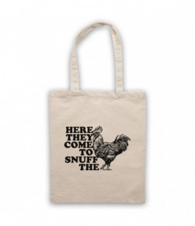 Alice In Chains Rooster Natural Tote Bag