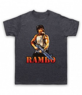 Rambo First Blood Sylvester Stallone T-Shirt T-Shirts