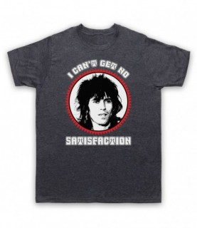 Rolling Stones Keith Richards Satisfaction T-Shirt T-Shirts