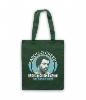 Rocky 2 Apollo Creed Lightning Fast And Hard To Catch Tote Bag Tote Bags