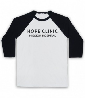 Call The Midwife Hope Clinic Mission Hospital Adults White And Black Baseball Tee