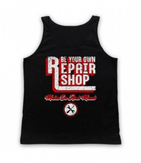 Be Your Own Repair Shop Make Do And Mend Tank Top Vest Tank Top Vests