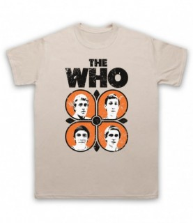 The Who 70's Band Members T-Shirt T-Shirts