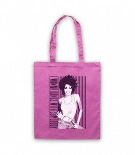 Whitney Houston I Wanna Dance With Somebody Who Loves Me Tote Bag Tote Bags