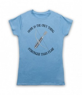 Hunger Games Hope Is The Only Thing Stronger Than Fear T-Shirt T-Shirts