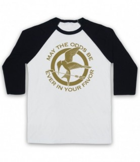Hunger Games May The Odds Be Ever In Your Favor Baseball Tee Baseball Tees