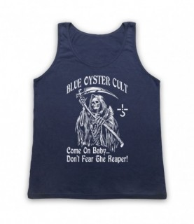 Blue Oyster Cult Don't Fear The Reaper Tank Top Vest Tank Top Vests