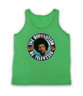 Gil Scott Heron The Revolution Will Not Be Televised Tank Top Vest Tank Top Vests